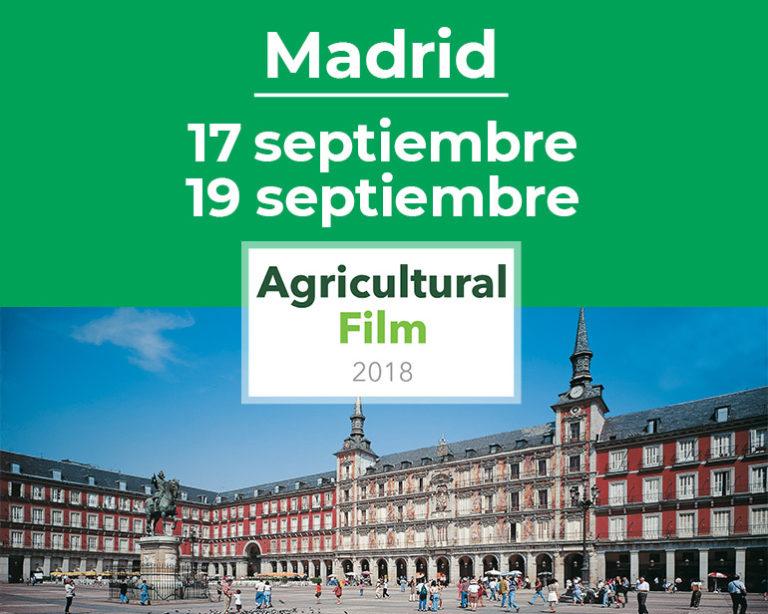 Frilvam en el Agricultural Film 2018