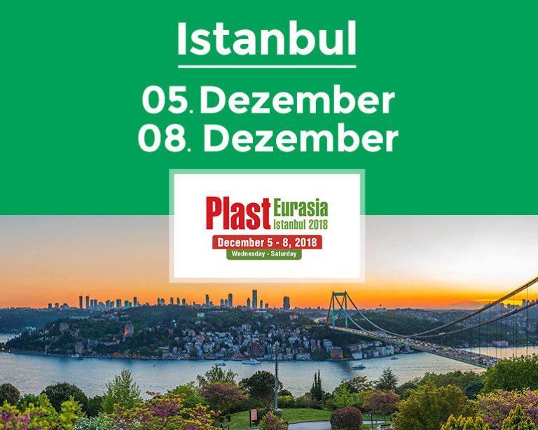 Frilvam auf der Plast Eurasia 2018 zur expansion auf den Nahost-märkten