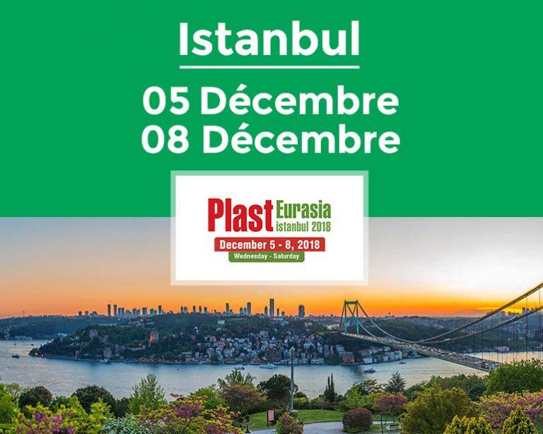 Frilvam à Plast Eurasia 2018, une ouverture vers les marchés du Moyen-Orient